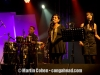 Steve Thornton and the background singers