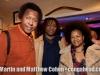 aaron Scott, Harey Wirht and wife