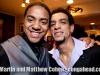 Sebastian Natala and friend