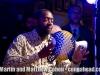 Shekere master and saxaphonist, Yosvani Terry