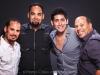 Marc Quiñones, Gino Picart, Pablo Alarcón and Bobby Allende