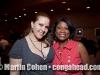 Ariacne Trujillo and Vivianne Cohen