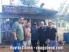 Eric Figuerroa, Wilfredo Mercado, Richie Flores and Matthew Cohen.  Pinones, Puerto, Rico