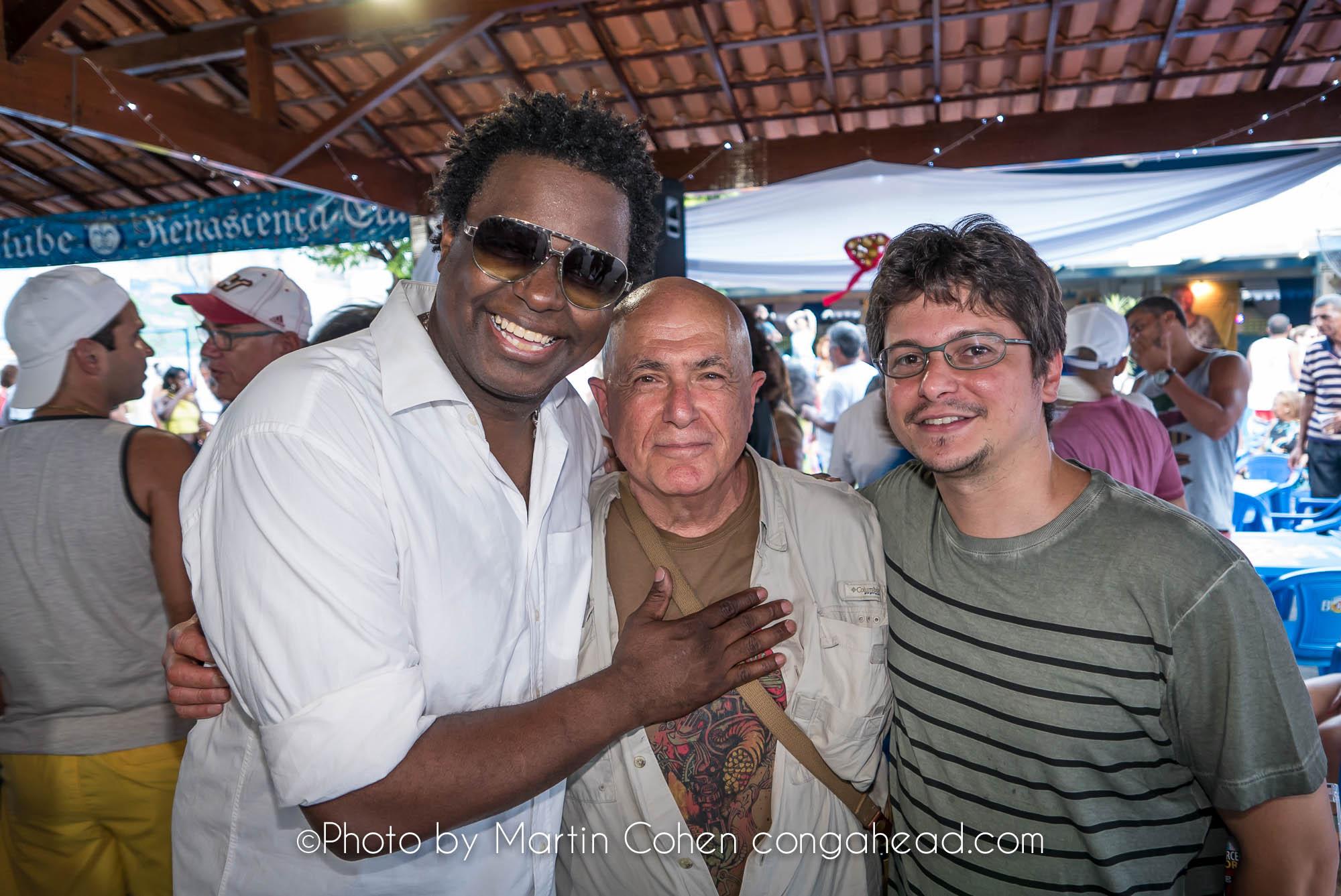 Marcelinho Moreira, Martin Cohen and Bernardo Agular