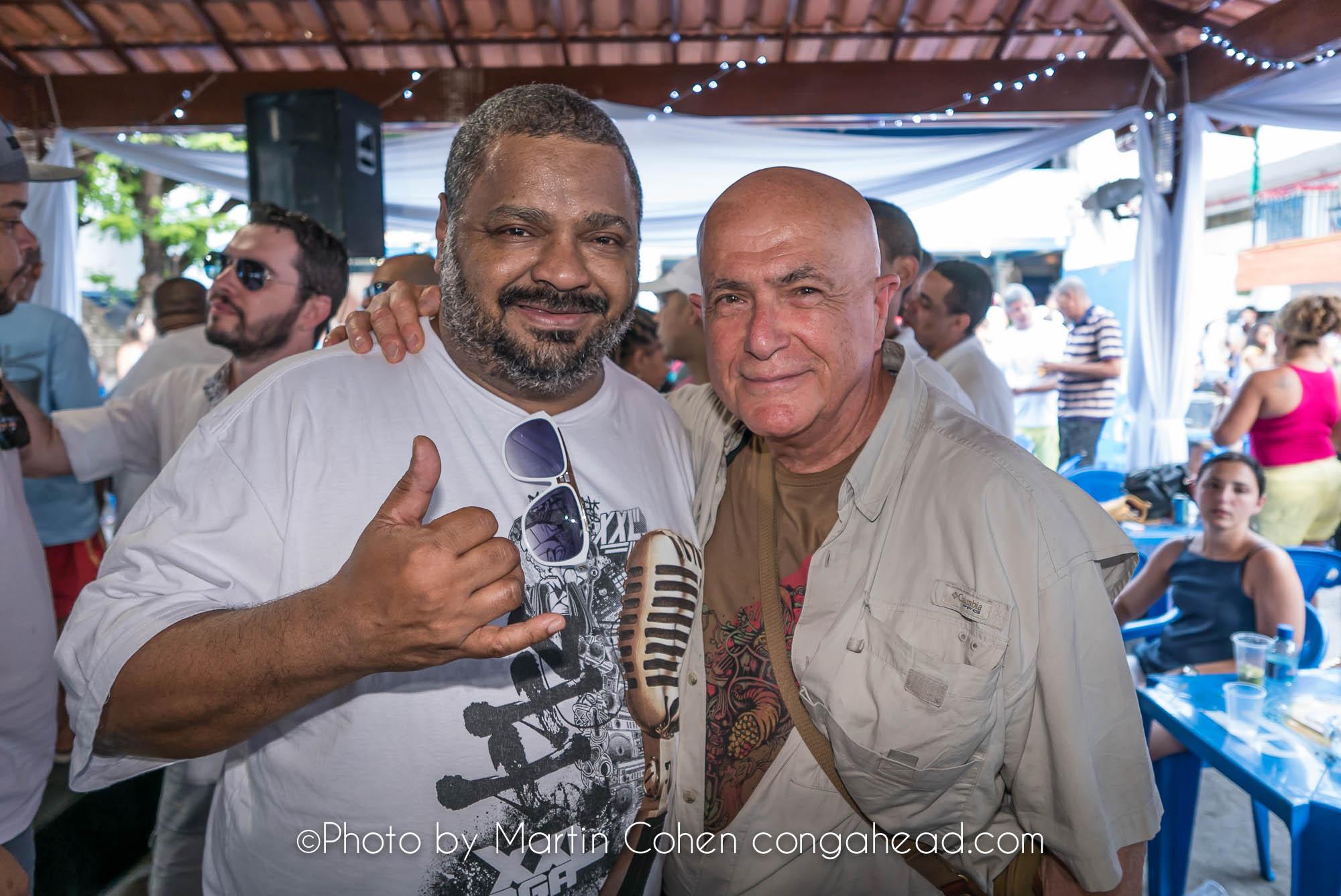 Arlindo Cruz and Martin Cohen