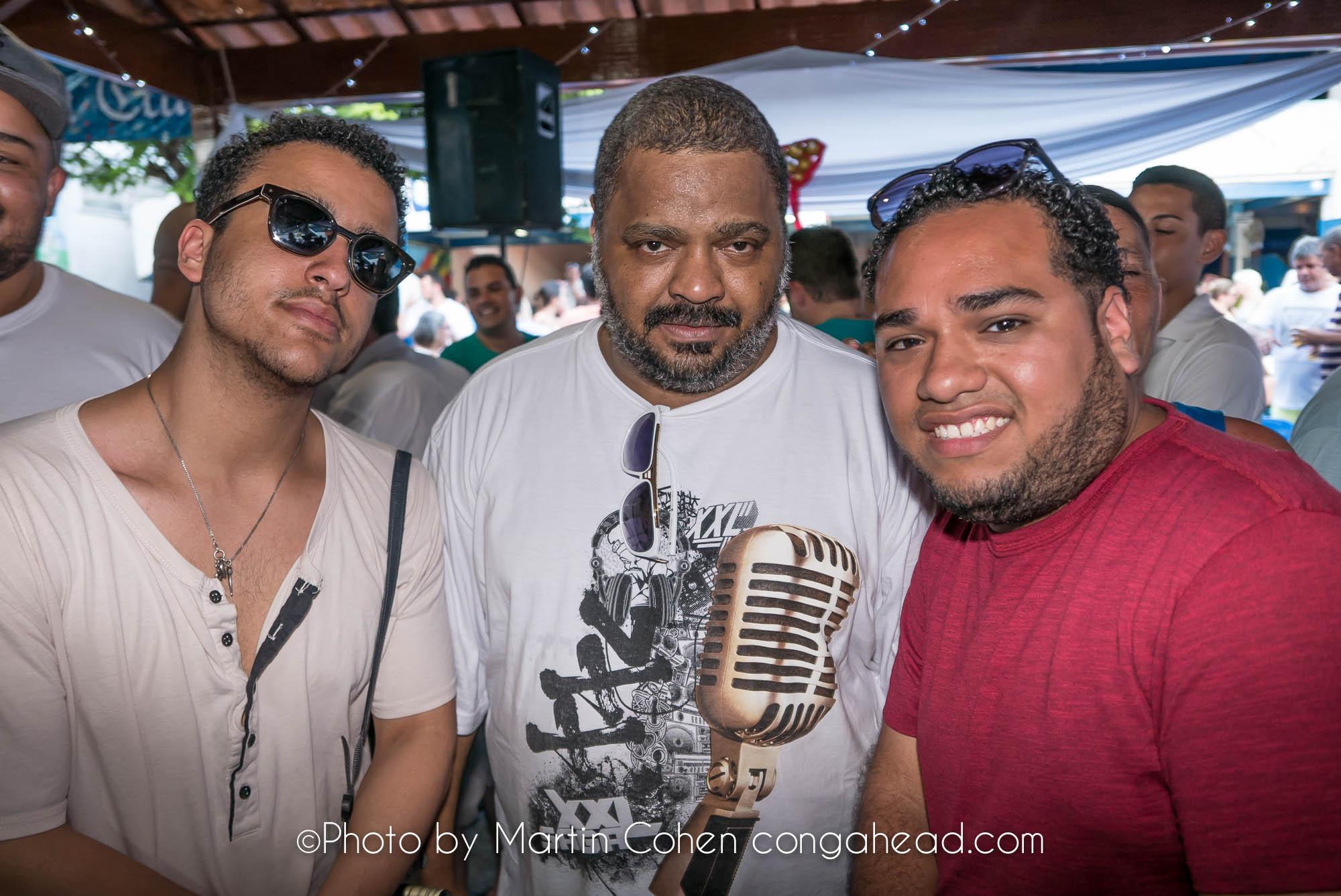 Matthew Cohen, Arlindo Cruz and Javier Raez