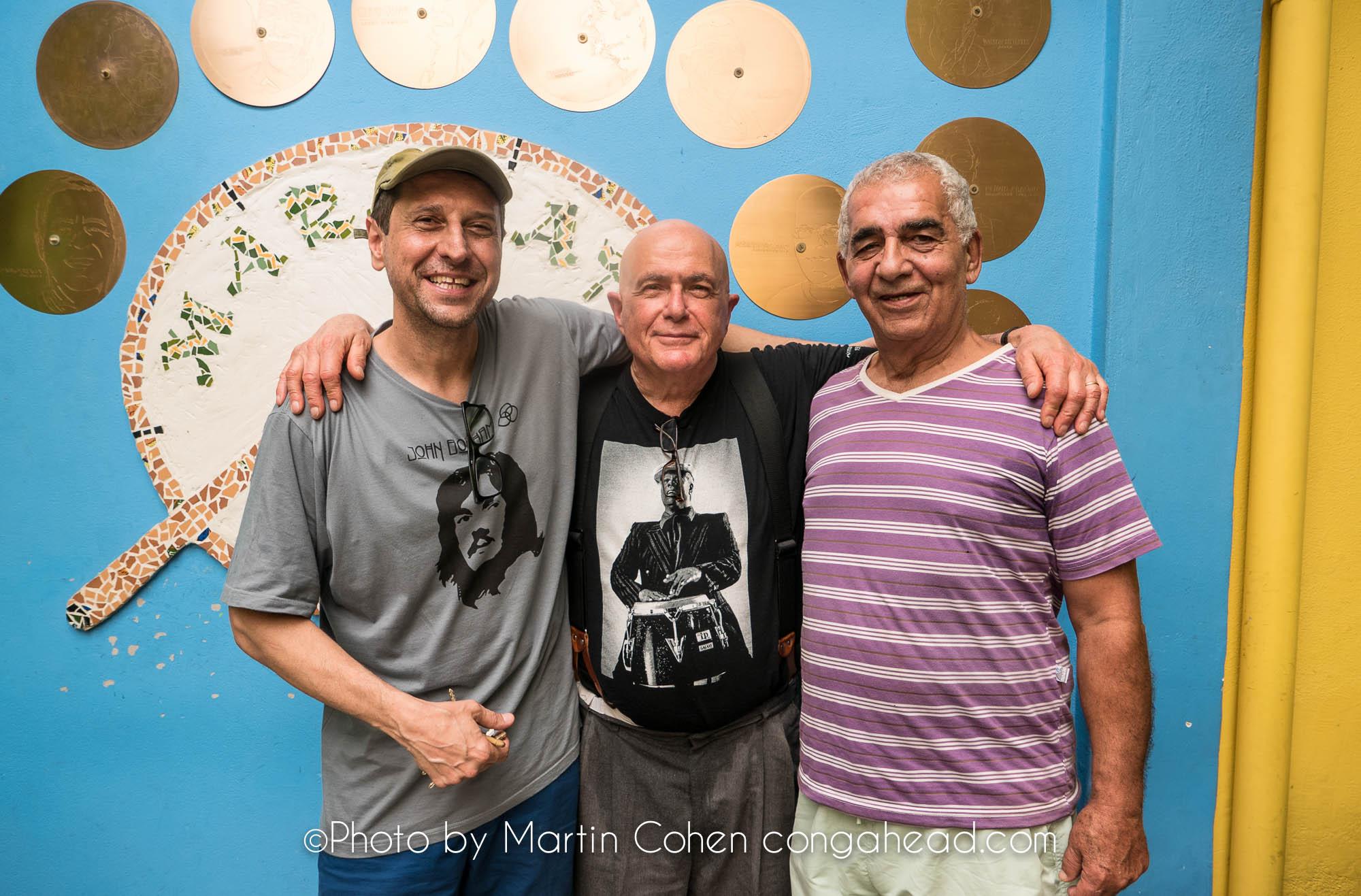 Guto Goffi, Martin Cohen and Laudir de Oliveira