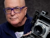 Martin Cohen and his Speed Graphic camera