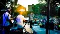 Sunset in St. Mary's Park, Bronx, NY