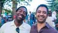 Yosvany Terry and Vijay Iyer Marcus Garvey Park, Charlie Parker Festival