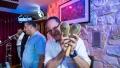 Charlie Garcia and maracas